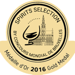 Spirits Selection Medaille d'Argent 2016 - Platinum